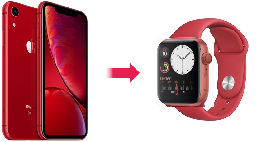 apple watch red 予想