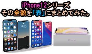 iPhone12 全貌 最新情報をひとまとめ